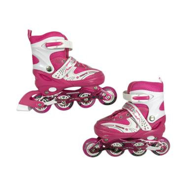 Allsportinggoods Power Speed Sepatu Roda - Pink [Size M/34-37 cm]