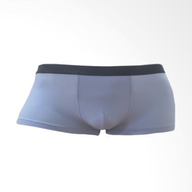 RHETO Benny Mens Boxer Celana Dalam Pria - Brunnera Blue Black