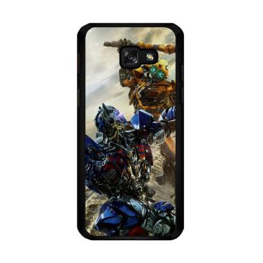 Flazzstore Bumblebee Versus Optimus Prime O0744 Custom Casing For Samsung Galaxy A5 2017