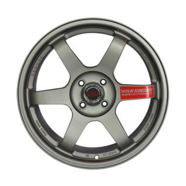 TE37 Velg Mobil - Silver [Ring 17]