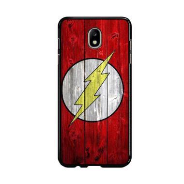 Flazzstore Flash Superhero Logo On  ... amsung Galaxy J7 Pro 2017