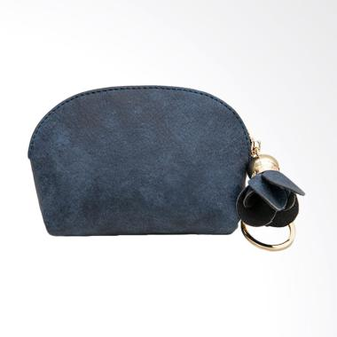Lansdeal Women Mini Wallet Holder Z ... Dompet Wanita - Dark Blue
