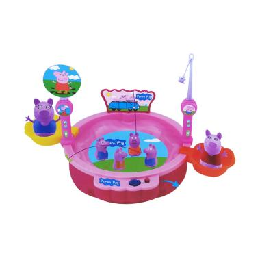 Peppa Pig 0960190015 Fishing Electric Snare Set Mainan Anak
