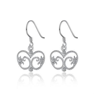 SOXY LKNSPCE797 New Exquisite Fashion Apple Shaped Diamond Earrings