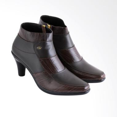 JK Collection JKC-JAK 5304 Sepatu Boots Wanita - Coklat