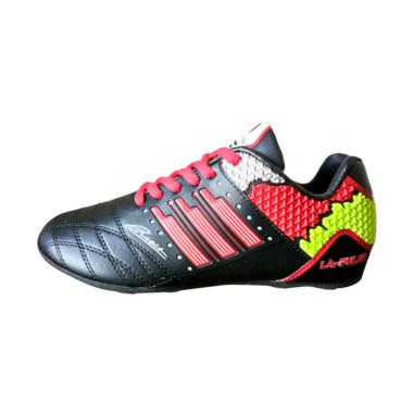 Sevenray La Pulga JR Sepatu Futsal Anak - Hitam Merah