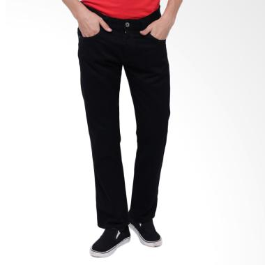 Edwin Reguler Fit Celana Jeans Pria - Black [506-72]