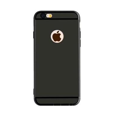 OEM Softcase Casing for iPhone 6 Plus or 6S Plus - Black