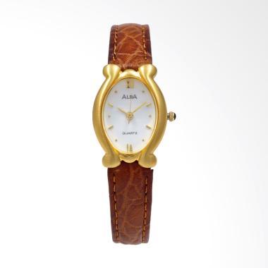 Alba ATCY12 Jam Tangan Wanita - Brown Gold White