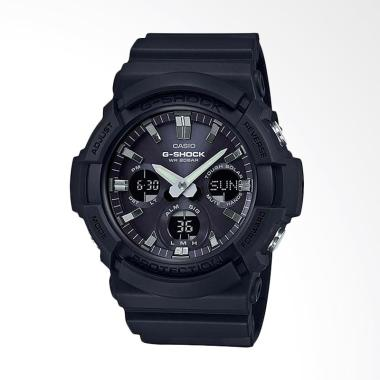 CASIO G-SHOCK Tough Solar Double LE ...  Full Black [GAS-100B-1A]