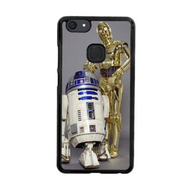 Flazzstore Star Wars C-3Po & R2-D2  ... m Casing for Vivo V7 Plus