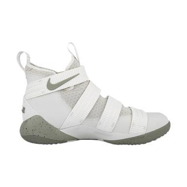 Nike Lebron Soldier XI SFG Sepatu Basket Pria - White