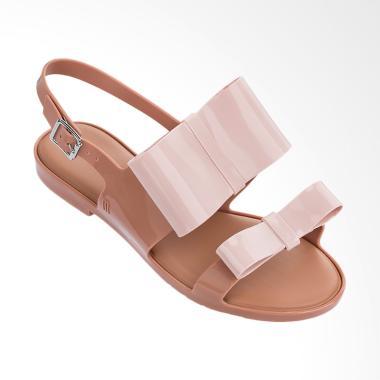 Melissa Classy II Ad 32258 Sandal Wanita - Brown Light Pink