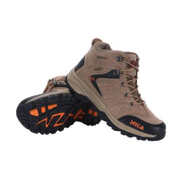 Sepatu Gunung Snta 482 Beige Brown - Olahraga/Hiking/Trekking Shoes