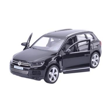 Uni Car Volkswagen Touareq Diecast Hitam