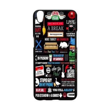 Acc Hp Friends TV Art Quote Cute Parody L2283 Casing for Oppo Neo 9