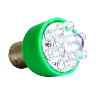 Raja Motor LED 7 Warna Bohlam Lampu ... OB9033-7Warna-CoverHijau]