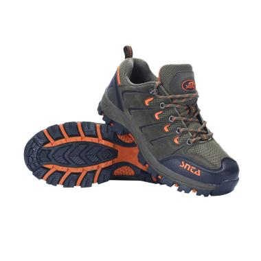 Snta Sepatu Gunung Unisex - Green Orange [401]