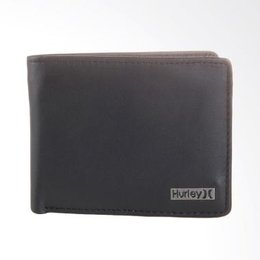 Hurley Oo Leather T-Wallet - Black [AMWSOL BLK UNT]
