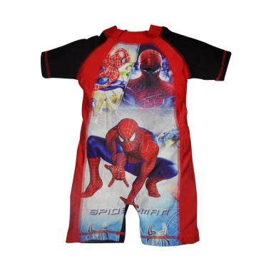 VERINA BABY Spiderman Pakaian Renang Anak Laki-laki - Merah