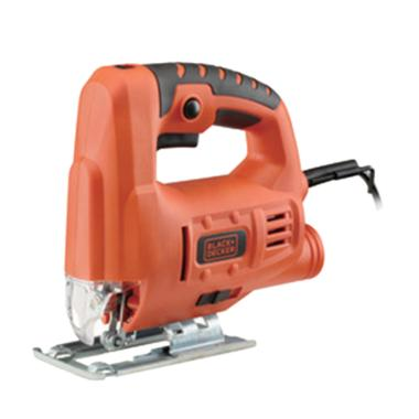 Black & Decker JS20 Mesin Jigsaw - Black Orange [65 mm/ 400 W]