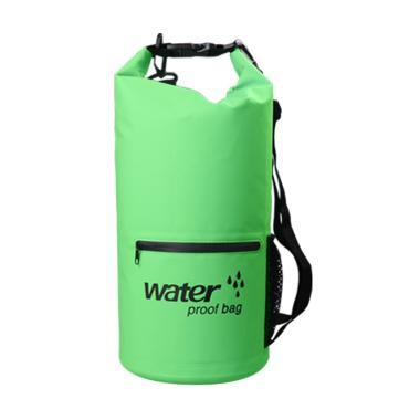 OEM Waterproof Dry Bag dengan Kantong Depan [10 L]