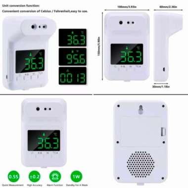 harga Termometer digital sensor dahi-tangan K3X-K3S + Tripod 21 meter Muticolor Blibli.com