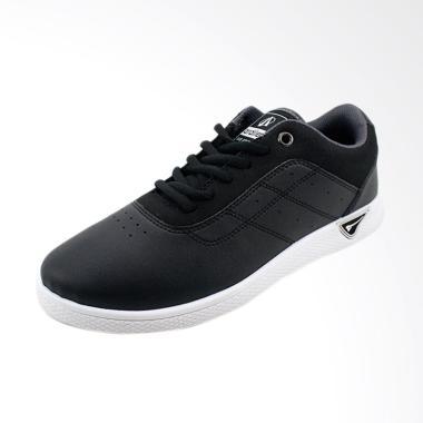 Ardiles Zenga Sepatu Casual Sekolah - Hitam Putih