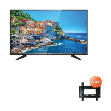Ichiko ST3976 Smart TV LED [39 Inch/ HD] + Free Bracket