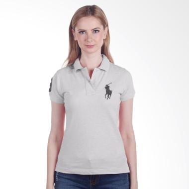 POLO RALPH LAUREN - POLO SHIRT CLAS ... Grey LADIES - Y02ABZE0593