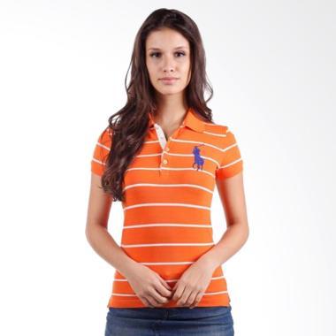 POLO RALPH LAUREN Stripe Slim Fit S ... nge White - YG786TEM9XT -