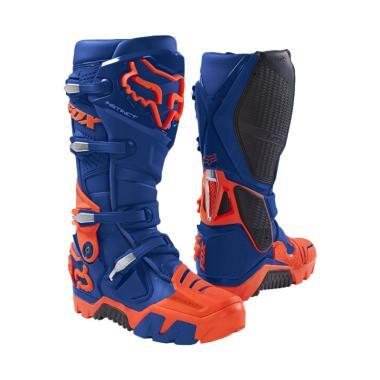 Fox Instinct Offroad Boot Sepatu Boots - Blue 17802-002
