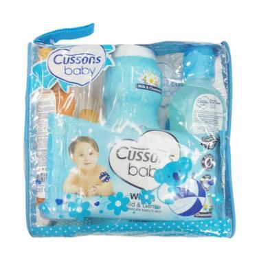 MOMO Cussons Daily Care Medium Bag Set Perlengkapan Bayi - Biru