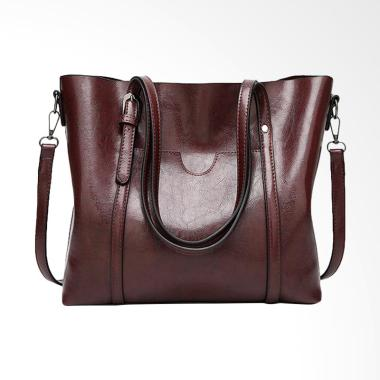 Lansdeal Fashion Crossbody Tas Wanita - Coffee