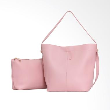 Lorica by Elizabeth Cyril Tote Bag Tas Wanita - Merah Muda