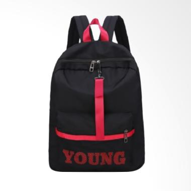 Fashion 0930070114 Young Fashion Import Tas Ransel Wanita - Black
