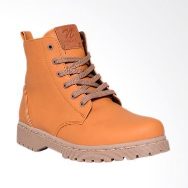 NOKHA Kody Sepatu Boots Wanita - Mustard