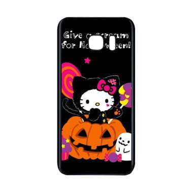 harga Bunnycase Halloween Hello Kitty Trick Or Treat 2 L1961 Custom Hardcase Casing for Samsung S7 Blibli.com