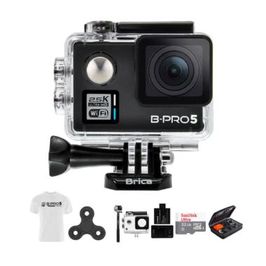 Brica B-PRO Alpha Plus 2 AP2 Combo  ... irt Action Camera - Hitam