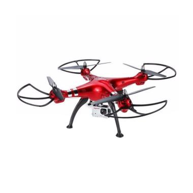 SYMA X8HG with 8 MP HD Camera Altit ... uadcopter RTF Drone - Red