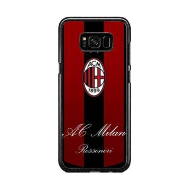 Guard Case Ac Milan Logo O1204 Cust ... or Samsung Galaxy S8 Plus