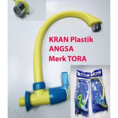 harga Jual Kran Cuci Piring Plastik  Keran Dapur Angsa  Kran Air PVC merk TORA Berkualitas Blibli.com