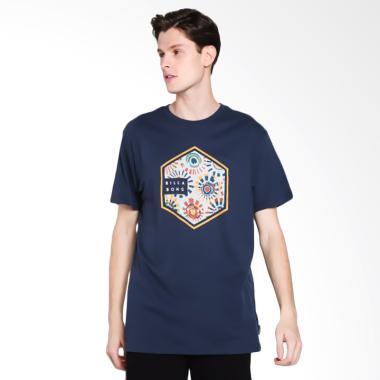 Billabong Access T-Shirt Pria - Navy 0d7b545681