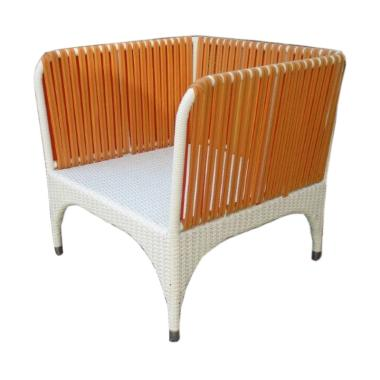 Pine Rotan Azia Arm Chair