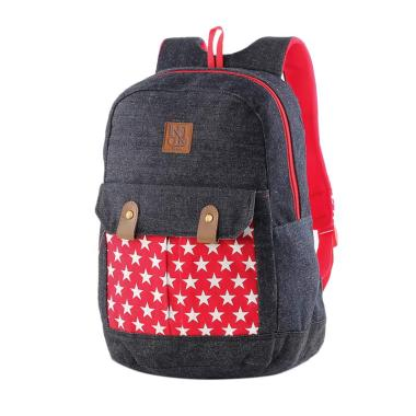 Inficlo SSU 345 Backpack Anak Perempuan - Merah Navy