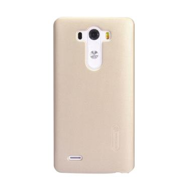 Nillkin Super Frosted Shield Hardcase Casing for LG G3 or D855 - Gold