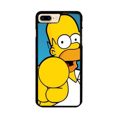 Flazzstore Homer Simpson Face Wallp ... e 7 Plus or iPhone 8 Plus