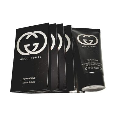 Gucci Guilty For Men Mini Travel Set Paket Parfum [5 pcs]