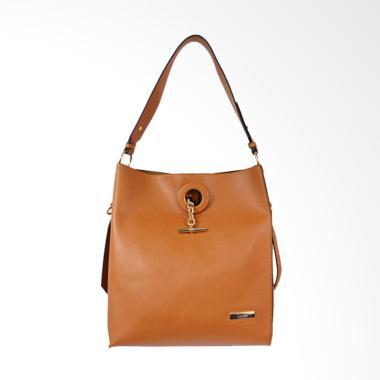 Bellezza MS-E230 Woman Shoulder Bag - Camel