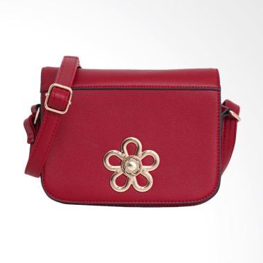 Lorica by Elizabeth Bayne Sling Bag Wanita - Merah
